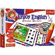 """Oktató játék - Élvezd az angolt + varázslat toll """"Little Explorer HU RO / Trefl - Társasjáték"""