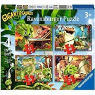 Ravensburger 030804 Gigantosaurus 4 az 1-ben - Puzzle