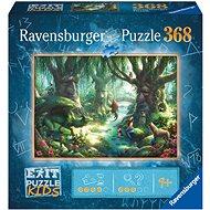 Ravensburger 129553 Exit KIDS: Varázslatos erdőben 368 darab - Puzzle