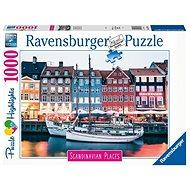 Ravensburger 167395 Skandinávia Koppenhága, Dánia 1000 darab - Puzzle