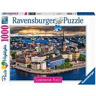 Ravensburger 167425 Skandinávia Stockholm, Svédország 1000 darab - Puzzle