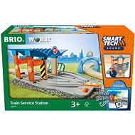 Brio World 33975 SMART TECH SOUND Mosó műhellyel - Vasútmodell kiegészítő