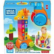 Mega Bloks Kockák számokkal - Építőjáték