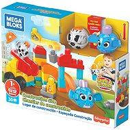 Mega Bloks Peek A Bloks Építkezés - Építőjáték