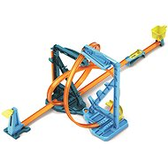 Autópálya Hot Wheels Track Builder Végtelen hurok - Autodráha