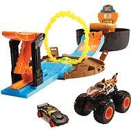 Játékautó Hot Wheels Monster Kaszkadőr mutatványok - Auto
