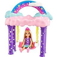 Barbie Chelsea hintalóval - Játékbaba