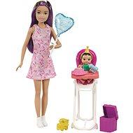 Barbie Bébiszitter Születésnap - Játékbaba