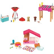 Barbie Mini játék szett kisállattal - Játékbaba