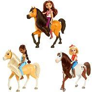 Spirit Baba és ló - Játékbaba