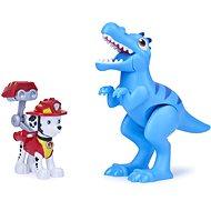 Mancs járőr  figura dinóval és tojással - Figura