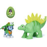 Mancs járőr Rocky figura egy dinóval és egy tojással - Figura
