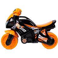 Motorkerékpár narancs-fekete - Futóbicikli