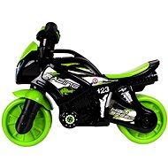 Motorkerékpár zöld-fekete - Futóbicikli