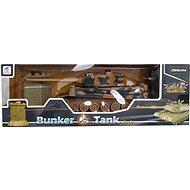 RC Tank + bunker - Távvezérelhető tank