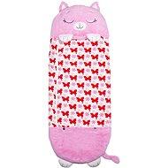 Happy Nappers hálózsák Álmos rózsaszín macska Charlotte - Szundikendő