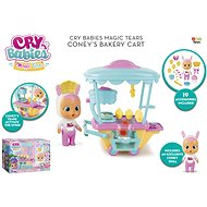 Cry Babies Magic Tears pékárus kocsi Cony - Baba