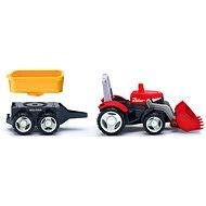 Efko Multigo 1 + 2 traktor pótkocsival - Játékautó