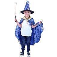 Rappa Kék boszorkány köpeny kalappal