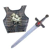 Rappa Lovagi kard hanggal és pajzzsal - Jelmez kiegészítő