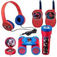 Interaktív játék Pókember készlet - rádió, fejhallgató, zseblámpa, iránytű