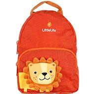 LittleLife Friendly Faces Toddler Hátizsák; 2l; oroszlán - Hátizsák