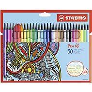 STABILO Pen 68 30 db karton tok - Filctoll