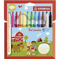STABILO Trio Jumbo 12 db tok - Filctoll