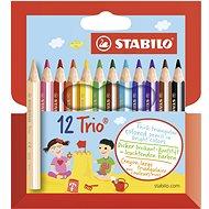 STABILO Trio, erős és rövid 12 db tok
