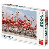 Dino Flamingók 500 puzzle - Puzzle