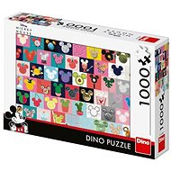 Dino Mickey fül 1000 puzzle - Puzzle