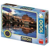 Dino Angyalvár 1000 neon puzzle - Puzzle