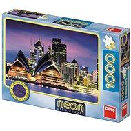 Dino Sydney-i Operaház 1000 neon puzzle - Puzzle