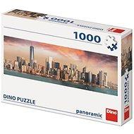 Dino Manhattan alkonyatkor 1000 panoramic puzzle - Puzzle