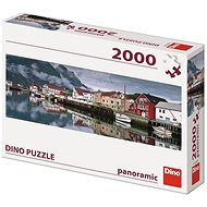 Dino Halászfalu 2000 panoráma - Puzzle