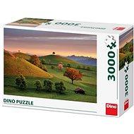 Dino Mesés napkelte 3000 puzzle - Puzzle