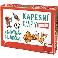 Dino Junior Zseb Kvízjáték - Okos fejecske - Kvízjáték