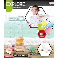 Teddies Szappankészítő tudományos játék formákkal - Csináld magad készlet gyerekeknek