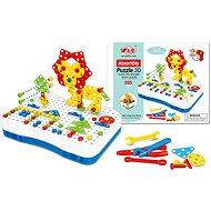 Csavaros 3D Puzzle, 40 motívum, 205 db - Puzzle