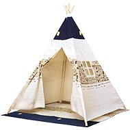 Bino TeePee sátor, bézs-kék