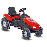 Jamara Big Wheel pedálos traktor piros - Pedálos traktor