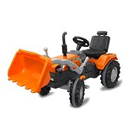 Jamara Power Drag pedálos traktor rakodókanállal narancssárga - Pedálos traktor
