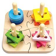 HAPE Kreatív fa puzzle - Fa puzzle