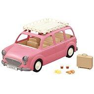 Sylvanian családok Családi autó Rózsaszín furgon - Figura kiegészítő