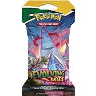 Pokémon TCG: SWSH07 Evolving Skies - 1 Blister Booster - Kártyajáték