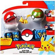 Pokémon Clip ´N´ Go Poké Ball övvel - Figura