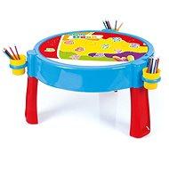 Dolu 2 az 1-ben játszóasztal kockákkal