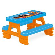 Hot Wheels Négyszemélyes piknik asztal