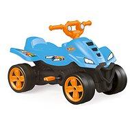 Hot Wheels gyermek pedálos quad kék - Pedálos négykerekű