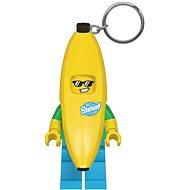 LEGO Classic Banana Guy - Zseblámpa kulcstartó